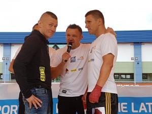 face to face Jackiewicz vs Świerzbiński