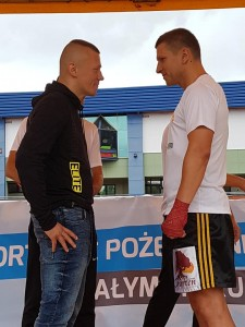 face to face SHY VS Jackiewicz